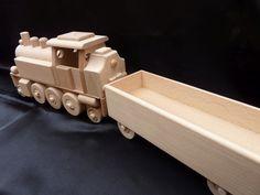 Spielzeug Holz Eisenbahn Lokomotive fur Kinder. 47.99 €