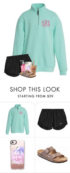 """""""i saw myself in a different light"""" by oliviajordyn ❤ liked on Polyvore featuring NIKE, Casetify and Birkenstock"""