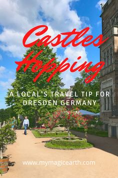 Castles in Dresden have magnificent gardens, the views over the Elbe rivers, their colourful stories which attract people from all over the world.  #Dresden #castles #traveltips #travelbloggers #destination #deutschland #Germany #daytrips #Europe #traveltips #weekendtrip #德国 #Deutschland #roadtrip #thingstodo #familywithkids #familytravel Europe Destinations, Europe Travel Guide, Travel Guides, Travelling Europe, Berlin, Frankfurt, European Travel, Germany Travel, Budget