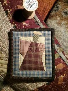 Mini angel quilt, pattern by Cheri Payne