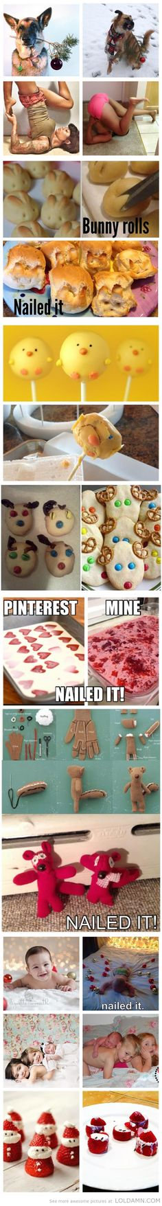 Nailed it!!- The Best of Pinterest Fails…