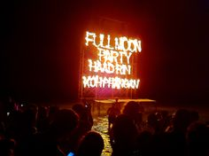 #fullmoon party at Koh Pha Ngan #thailand