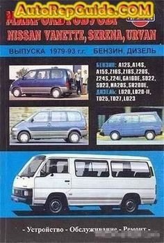Download free - Nissan Vanette, Serena Urvan (1979-1993) repair manual: Image:… by autorepguide.com