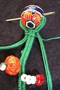 how to bracelet with finger weaving