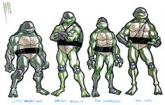 Turtles Structure quick sketch by *Santolouco on deviantART