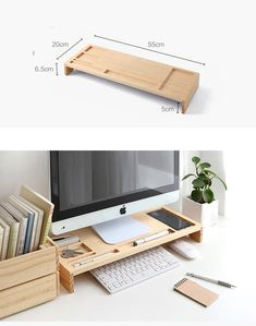 New diy desk organizers organizing ideas room organization Ideas Home Office Setup, Home Office Design, Home Office Furniture, Diy Furniture, Furniture Design, Office Designs, Furniture Stores, Furniture Dolly, Furniture Movers