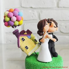 Hey, I found this really awesome Etsy listing at https://www.etsy.com/listing/267892813/disneys-up-version-custom-wedding-cake