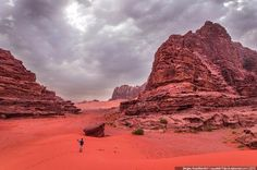 Where we were filming the Martian 06 Wadi Rum, The Martian, Our Planet, Monument Valley, Planets, Film, Nature, Travel, Vogue Japan