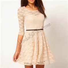 vestito corto pizzo bianco - Bing images