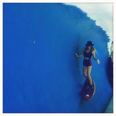 Faux waves in Bali.