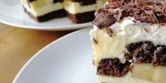 Apfel-Löffelbiskuit-Kuchen ohne Backen – Die Küche