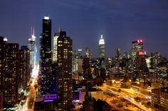 NYC at night - Roger Davies Photography