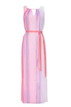 Petite Pale Pink Ombre Maxi Dress