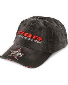 Distressed PBR Logo Cap Professional Bull Riders 55ff594e46ff