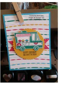 Stampin Up Sale-a-bration Tasty Truck stamps set