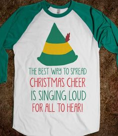 Elf - Christmas Cheer - Winter Cheer - Skreened T-shirts, Organic Shirts, Hoodies, Kids Tees, Baby One-Pieces and Tote Bags Custom T-Shirts, Organic Shirts, Hoodies, Novelty Gifts, Kids Apparel, Baby One-Pieces | Skreened - Ethical Custom Apparel
