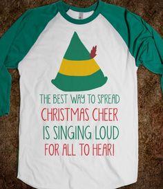 Elf - Christmas Cheer - Winter Cheer - Skreened T-shirts, Organic Shirts, Hoodies, Kids Tees, Baby One-Pieces and Tote Bags Custom T-Shirts, Organic Shirts, Hoodies, Novelty Gifts, Kids Apparel, Baby One-Pieces | Skreened - Ethical Custom Apparel