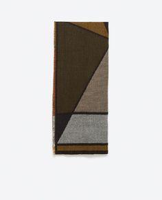Image 2 of JACQUARD SCARF from Zara