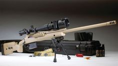 Operational history, technical specifications and images of the McMillan TAC-338 Sniper Rifle.