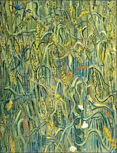 """ Ears of Wheat, Vincent van Gogh 1890 """