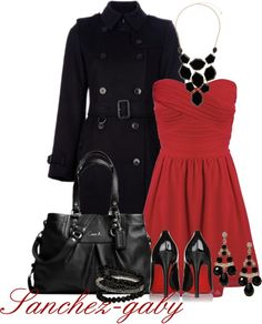 """""""Holiday Party Dress"""" by sanchez-gaby on Polyvore"""