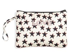 231e97cf501b Burberry Overdyed Horseferry Check Leather Clutch - Ash Rose Dusty ...