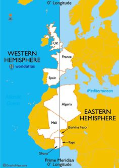 countries in both the eastern and western hemispheres mental mapgifted