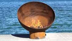 Order the Meridian Sculptural Firebowl direct from the artist!