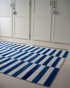 Patchwork Carpet/Tapijt Le Marin. Design by Davina