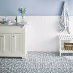 The Mr Jones Midnight 331x331mm tile is the latest addition to The Heritage Collection alongside the Wicker Duck Egg. Bringing in a stylish new colourway extends the design potential of these striking tiles throughout the home. Inspired by the Laura Ashley archive, Mr Jones Midnight gives a delicate balance of pattern and space, offering a contemporary appeal with a sense of heritage.