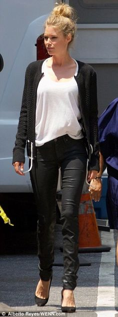 Fall #streetstyle | Doutzen Kroes