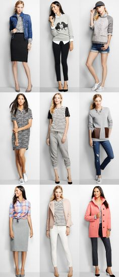Inspired: J.Crew Factory {Fall Looks}