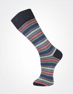Effio X Effio Bloom of Life - Nicety no.711 #Men #Fashion #Socks #Stripes #Mint