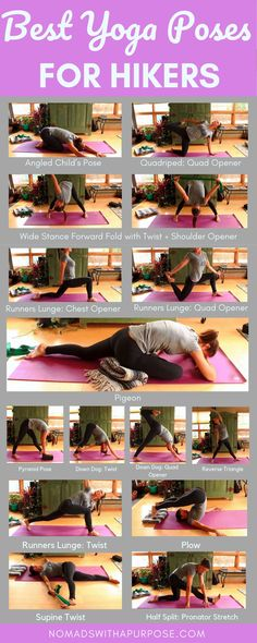 Best Yoga Poses For Hikers