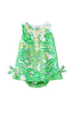 Dresses for baby girls are always a good idea. Presents for baby girls are easy when you know about the Baby Lilly Shift. Mom will love it because she'll always remember her baby's first Lilly.