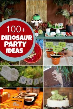 Ideas para fiestas de dinosaurios