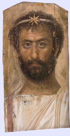 Fayum mummy portraits of Moorish Egyptians; in Wales the Silures Celts were http://www.historyfiles.co.uk/KingListsBritain/BritainSilures.htm