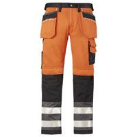 Snickers Hi Vis Trousers 3233