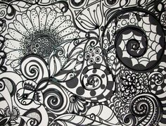 On Sale Now Black and White Original by HeatherMontgomeryArt, $49.00
