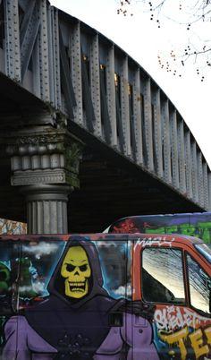 ©Vincent Brun Hannay Paris 13 em Les Gobelins, Have A Nice Trip, Street Art, Paris, Adventure, Skeletons, Montmartre Paris, Bon Voyage, Paris France