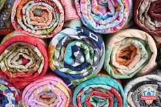 Jelly Roll Jam, a FREE quilt pattern by Fat Quarter Shop! Quick, easy, and super cute! Uses just half of a Jelly Roll.