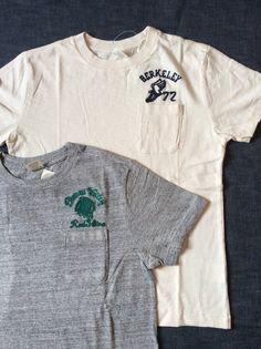 チェスウィックからワンポケットTシャツのチェーンステッチワンポイントが入荷しました。本体価格¥3,900