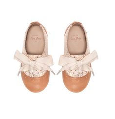 Beautiful brogues for little girls. I have shoes like this so it would be cute to put her in them and me wear mine.