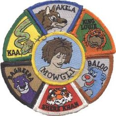 Such a neat Cub Scouts patch!