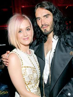 Celebs that got divorced very young   Katy Perry and Russell Brand