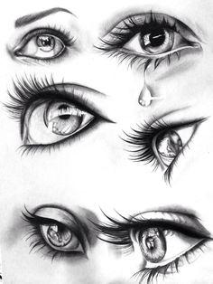 Artofit eye art, crying eye drawing, human drawing, realistic eye d Crying Eye Drawing, Human Drawing, Drawing Eyes, Pencil Art Drawings, Art Drawings Sketches, Eye Drawings, Eye Pencil Drawing, Pencil Sketching, Sketches Of Eyes
