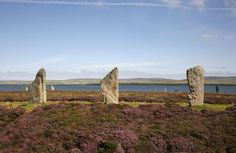 RING OF BRODGAR fascinating journey through a distinctive rolling landscape sculpted by vast sheets of ice during the last glaciation from 70000 to 10000 years ago.