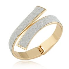 Pulseras Fashion Gold/Silver Cuff Bracelets  Bangles for Women Men Jewelry Matted Charm Bracelet Manchette Pulseiras Bijoux Like if you remember Visit our store
