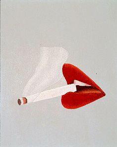 Tom Wesselmann: Smoker Study #39, 1967 - Painting