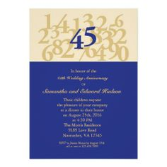 45th Sapphire Wedding Anniversary Invitation we are given they also recommend where is the best to buyDiscount Deals          45th Sapphire Wedding Anniversary Invitation Review from Associated Store with this Deal...